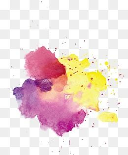 Watercolor Effect Watercolor Clipart Color Ring Drawing Ink Png