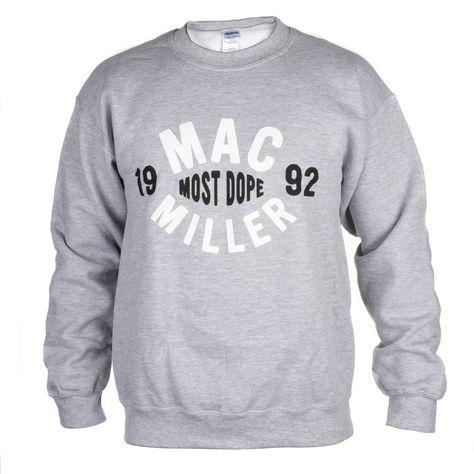 7a65d47c3 Mac Miller Most Dope Sweatshirt