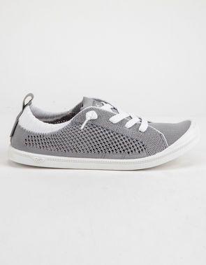 f65e8363cc9c9 ROXY Bayshore Knit Grey Womens Shoes | fashion in 2019 | Shoes, Knit ...