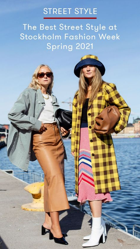 The Best Street Style at Stockholm Fashion Week Spring 2021