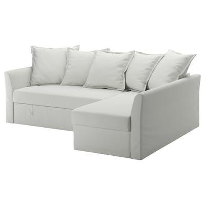 Holmsund Sleeper Sectional 3 Seat Orrsta Light Blue Chair Bed