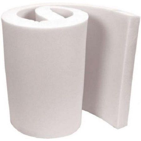 Sofas LINENSPA LS2247235UF High Upholstery Foam-35 Density Cushion Craft Perfect for Chairs White 2 x 24 x 72 and DIY Projects Foam
