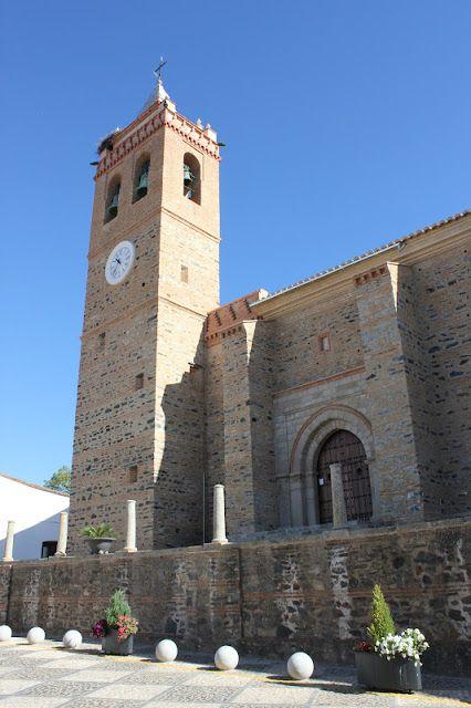 Iglesia De San Martín Zalamea La Real Huelva Monumentos Edificios Andalucía
