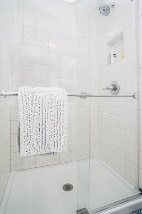 Full Shower No Tub With Plenty Of Hot Water Tiny House