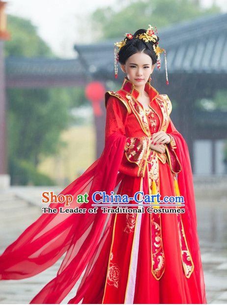 Traditional Chinese Wedding Dress Chinese Hanfu Clothing