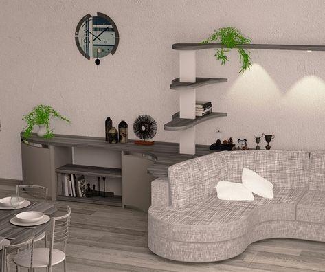 Ingresso Soggiorno Open Space.Mobile Per Soggiorno Openspace O Ingresso Dal Design Moderno