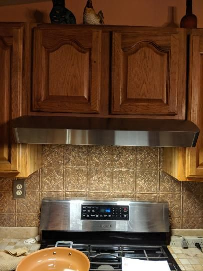 Broan Nutone Mantra 30 In Convertible Under Cabinet Range Hood With Light In Stainless Steel Avsf130ss The Home Depot Transitional Kitchen Design Range Hood Under Cabinet Range Hoods