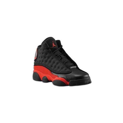 no sale tax official supplier best wholesaler Jordan Retro 13 Boys' Grade School ($115) ❤ liked on ...