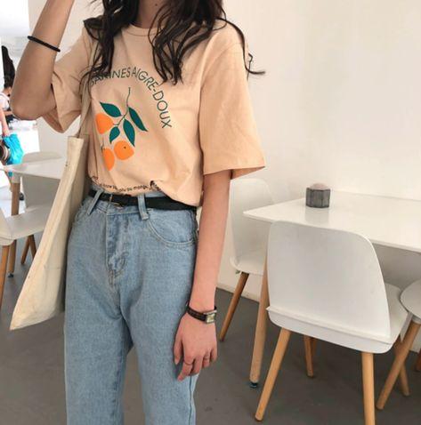 Mandarines Cotton Shirt