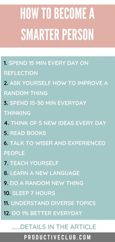 How to Become Smarter - 15 Useful Tips