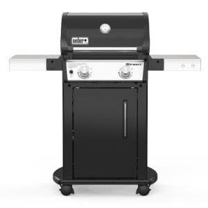 Weber Spirit E 215 2 Burner Liquid Propane Gas Grill In Black 46112001 The Home Depot In 2020 Propane Gas Grill Gas Grill Best Gas Grills