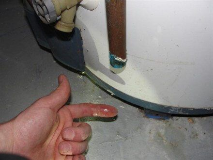 When A Temperature And Pressure Relief Valve At A Water Heater Leaks It S Usually A Simple Fix Just Replace Water Heater Repair Water Heater Diy Water Heater