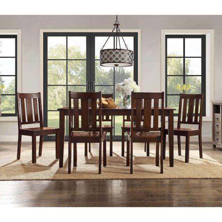 e42c966caa5bfb7931f58a92fd024b6f - Better Homes And Gardens Bankston 6 Piece Dining Set Mocha