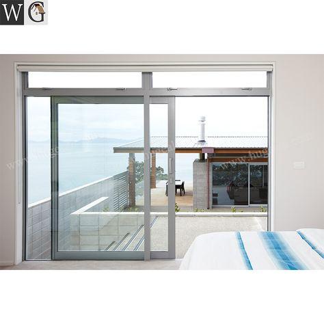 Exterior Soundproof Chinese Factory Aluminum Sliding Glass Doors