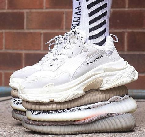 Balenciaga Triple S Trainer 483546W06F19000 Shoes SALE at