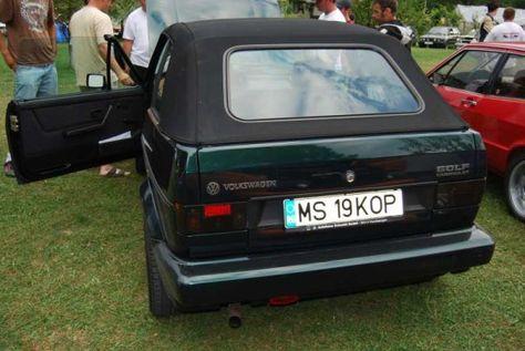 Volkswagen Golf 1 Cabrio ClassicLine (1992)