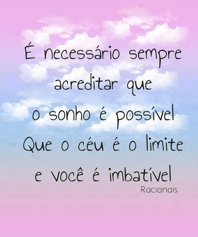 Post  #FALASÉRIO!  : Que tenhamos força para lutar as batalhas da vida....