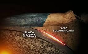 Las Placas Tectonicas De Nazca Y Sudamérica Dan Origen A La Formación De La Cordillera De Los Andes Tectonica De Placas Terremoto Eres Mía