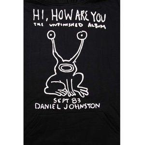 (AG) ニルヴァーナ NIRVANA 5 BLK PARKA(KURT COBAIN カートコバーン/DANIEL JOHNSTON ダニエルジョンストン)(パーカ) バンドTシャツ ロックTシャツ