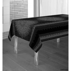 Nappe Baroque Noir 2m X 1m48 Anti Tache Infroi Anti Tache Nappe Maison