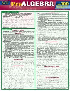 College Algebra Laminated Study Guide (9781423220312