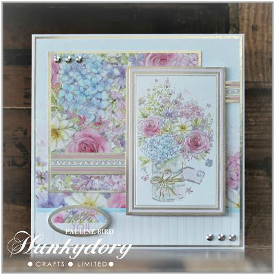 Hunkydory an Artists Garden Get Well Wishes Luxury Topper Set