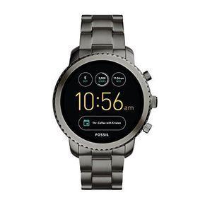 Fossil Q Gen 3 Smartwatch Smoke Explorist Smart Watch Fossil Watches Android Wear
