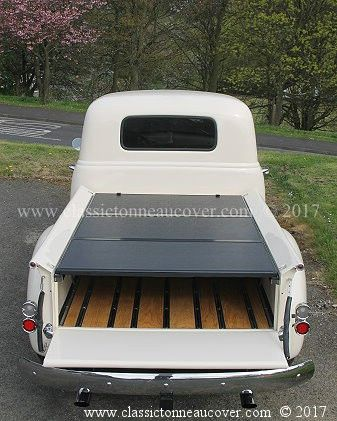 Hard Tonneau Cover For The 1947 53 Chevy Truck Tonneau Cover