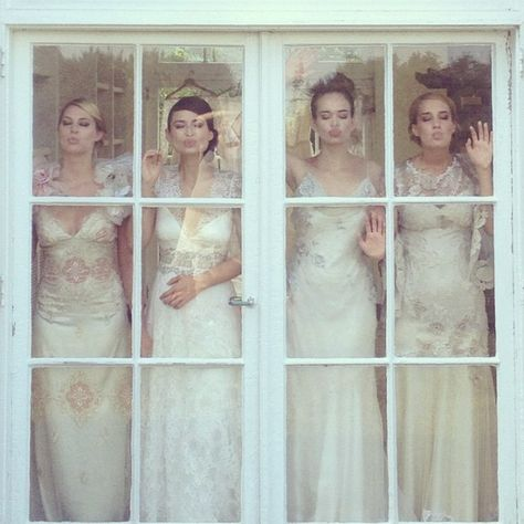 ‪#‎TBT‬ Claire Pettibone wedding dresses‬ [PHOTO] by Elizabeth Messina http://www.clairepettibone.com/bridal/?cp=lookbook