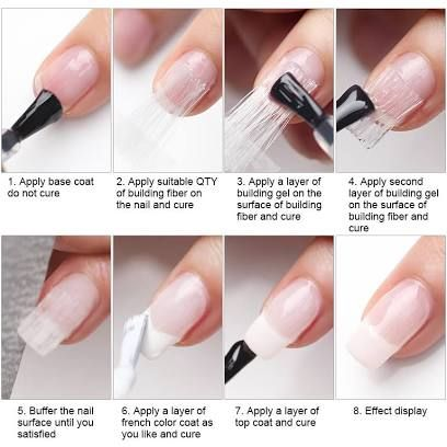 How To Do Acrylic Nails Nail Extensions Acrylic Fiberglass Nails Acrylic Nail Tips
