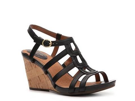 fd67d00887b7 Clarks Kyna Wise Wedge Sandal Womens Wedge Sandals All Womens Sandals  Sandal Shop - DSW