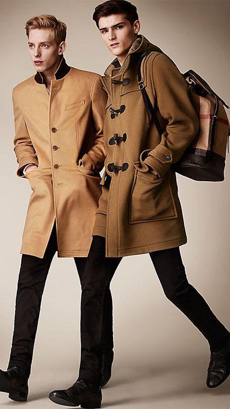 Men's Coats | Pea, Duffle & Top Coats | Mens fashion summer