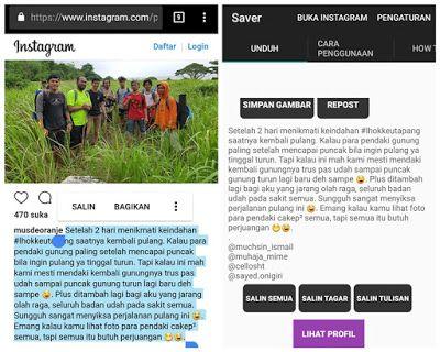 Musdeoranje Net 3 Cara Copy Paste Caption Orang Di Instagram Instagram Caption Pengikut