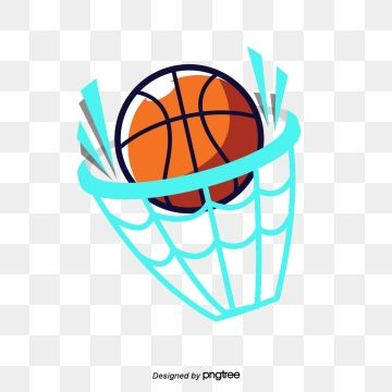 Elemental Design Of Cartoon Basketball Network Sports Cartoon Illustration Png Transparent Clipart Image And Psd File For Free Download