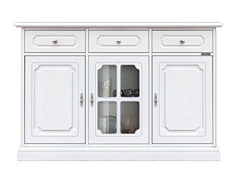 Meuble Buffet De Rangement 3 Portes Nuage Amazon Fr Cuisine