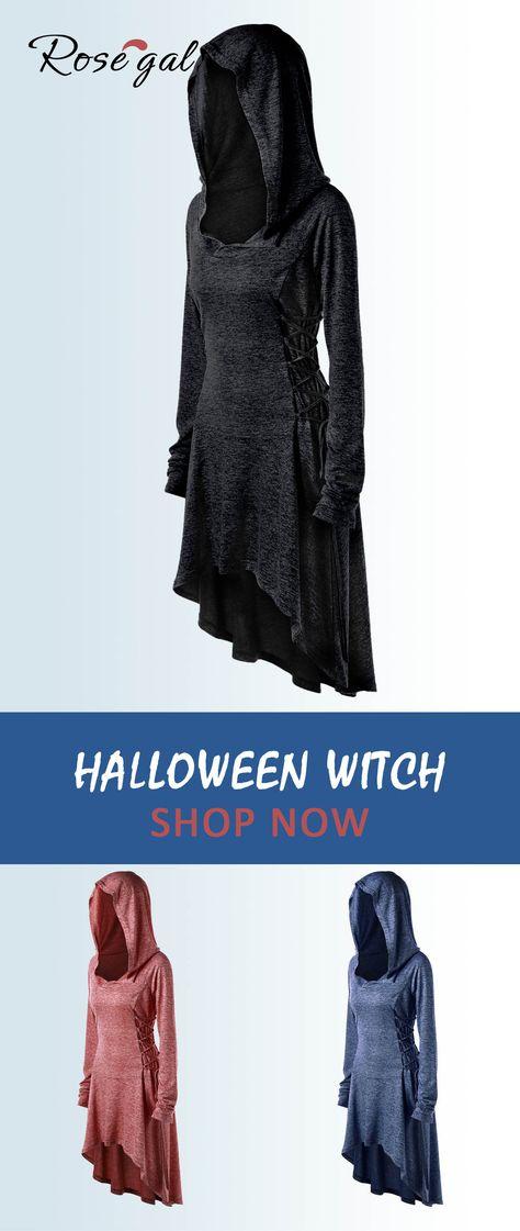 c3c0e220a0d Halloween Plus Size Lace Up Marled Dip Hem Hoodie