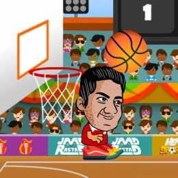 لعبة كرة السلة بالراس Head Basketball Fun Basketball Games Sports Basketball Basketball Games