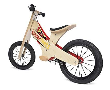 Kinderfeets Super Wooden Balance Bike Review Kids Bikes