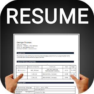 Resume Builder Free Cv Maker Templates Formats App Free Resume Builder Resume Builder Cv Maker