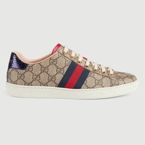 Gucci Ace Gg Ayakkabi Sari 70 Gucci Gucciacegg Ayakkabi Gucci Bayan Ayakkabi Sneaker