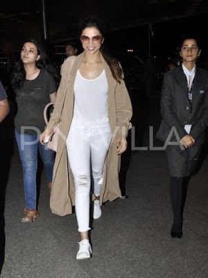 10 Long Jackets Donned By Deepika Padukone Long Jacket Outfit White Long Jacket Fashion