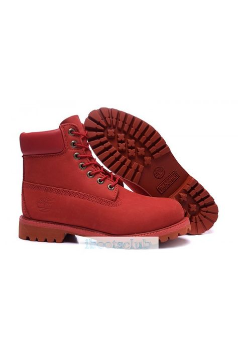277528dc91d Men s Timberlands 6 Inch Boots 10061 Waterproof Boot Classic Red ...