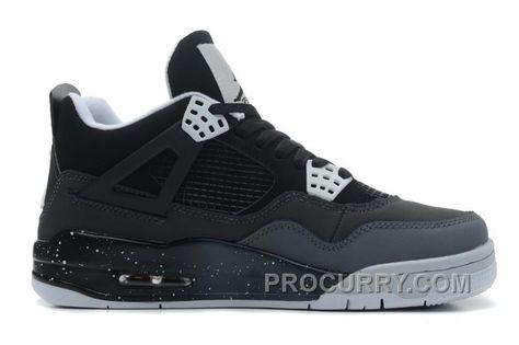 "more photos 99926 95fcb Air Jordans 4 Retro ""Fear"" Black White-Cool Grey-Pure Platinum For Sale New    Air Jordan 4 (IV)   Air jordans, Jordans, Nike air jordans"