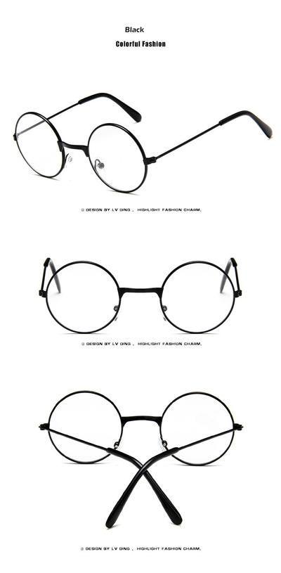 bbf1f2f4597c Fashion Round Children Glasses Frame Baby Boys Girls Eyeglasses Frame  Vintage Kids Clear Lens Optical Spectacle 2-7 old