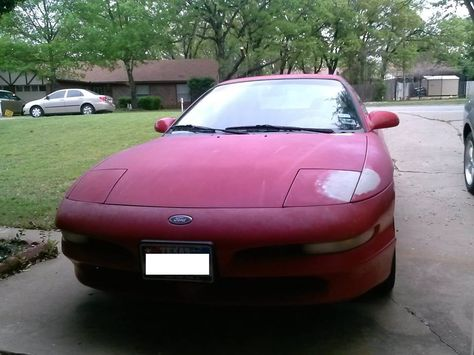 3d Ford Probe Custom Model Created Using Lightwave By Tony Coleman At