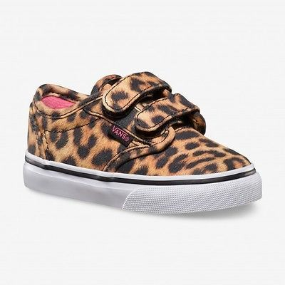 Vans Atwood (cheetah) Kids Velcro