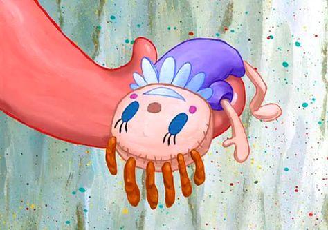 """Put her there!"" -                    SpongeBob Freeze Frames"