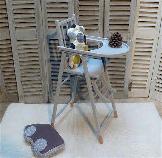 Les mHômes en goguette : Chaise Haute pliable
