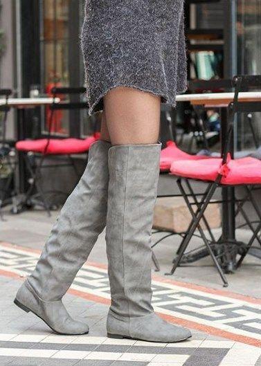Vizon Uzun Cizme Uzun Cizme Cizmeler Bayan Ayakkabi