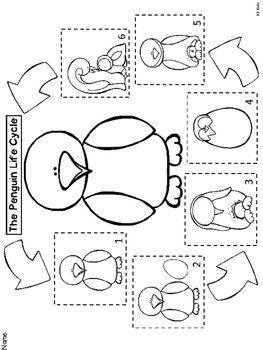 The Penguin Life Cycle for Kindergarten {Emergent Reader and Activities} – Education Posters Letter P Activities, Fall Preschool Activities, Sequencing Activities, Penguin Facts, Penguin Life, Polar Animals, Emergent Readers, Life Cycles, Montessori